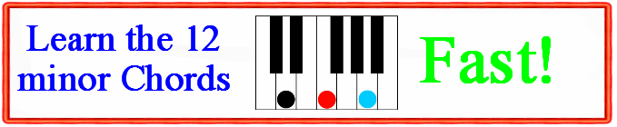 Piano 12 piano chords : Piano : 12 major piano chords 12 Major Piano Chords and 12 Major ...